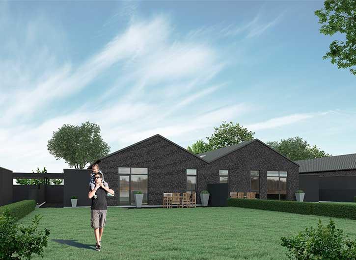 Flyt i nybygget hus i Viborgg